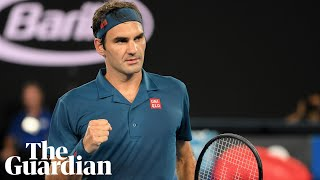 Roger Federer has 'no plans' to retire after cruising into Australian Open last 16