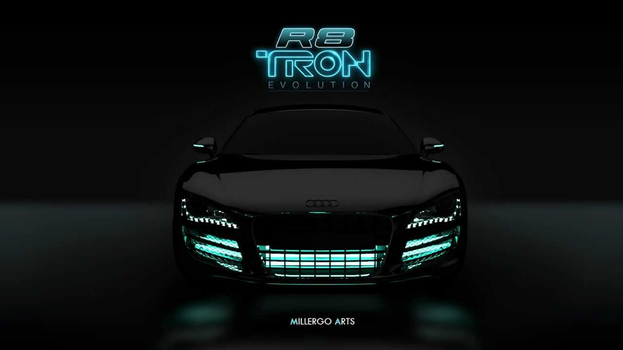 audi r8 tron legacy millergo youtube. Black Bedroom Furniture Sets. Home Design Ideas