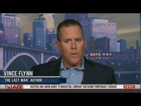 Vince Flynn Author of The Last Man talks with Glenn Beck on The Blaze TV