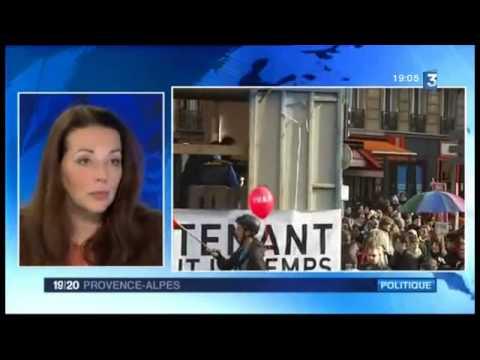 Interview de la députée Valérie Boyer au Journal de France 3 Provence-Alpes (27/01/13)