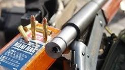 shooting 22 WMR from a 12ga shotgun adapter