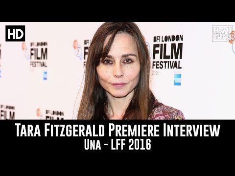 Tara Fitzgerald LFF Premiere Interview - Una