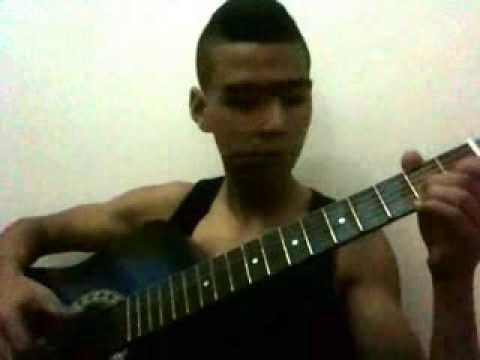 Ismael Lo - Tajabone (taher heroum) guitar cover tiznit maroc