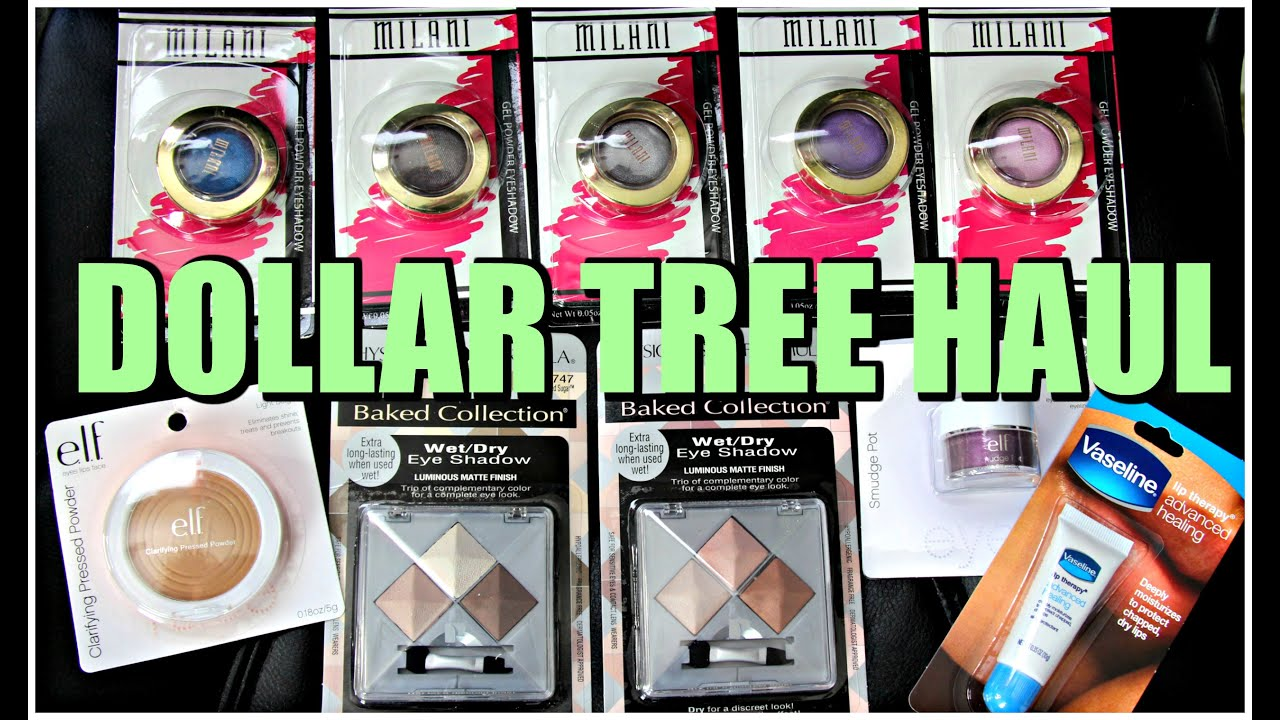 Dollar Tree Makeup Haul | April 2016 - YouTube