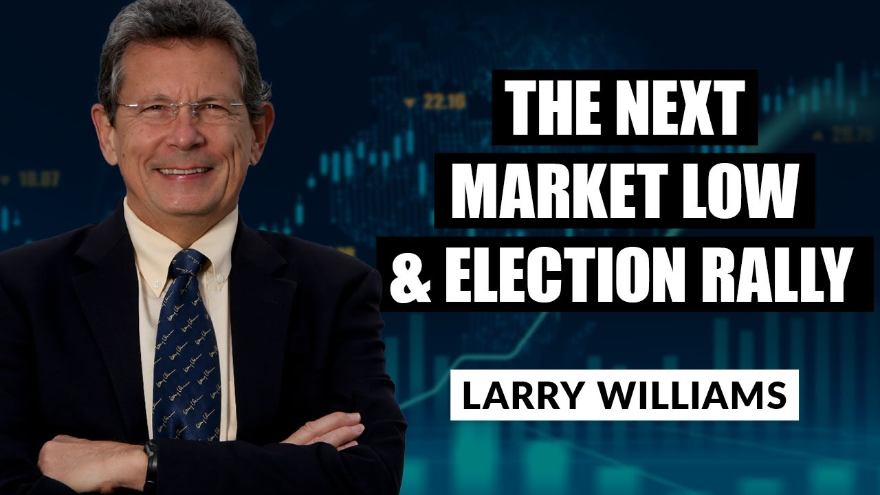 The Next Market Low and Election Rally | Larry Williams | Real Trading Special (10.01.20)