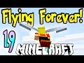 "How To Fly Forever In MineCraft 1.9 Vanilla! (Using Only Elytra Wings) ""Snapshot 15w41b"""