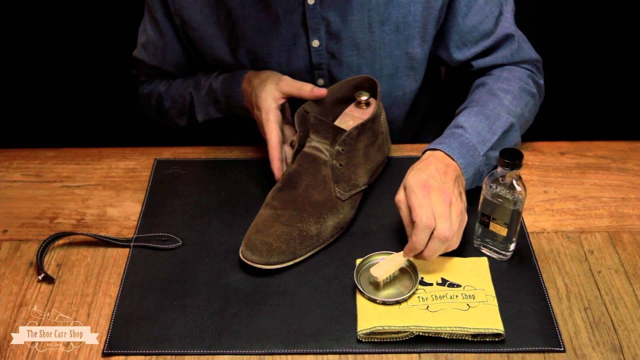 Schuhe veloursleder reinigen