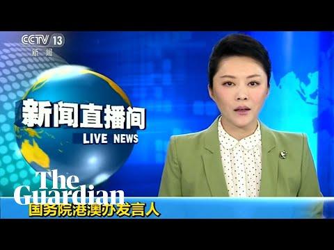 China says violent