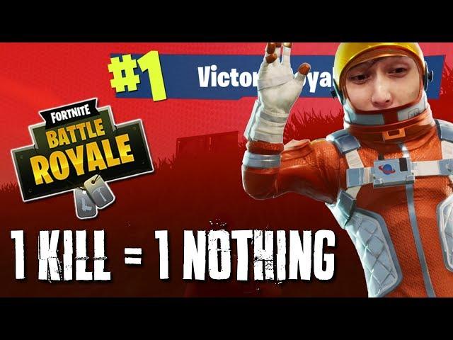 1 KILL = 1 NOTHING (SingSing Fortnite Battle Royale Highlights)