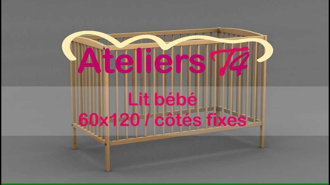 lit b b lucia t13016410 ateliers t4 youtube. Black Bedroom Furniture Sets. Home Design Ideas