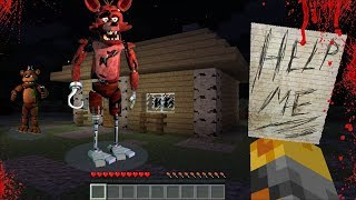 DON'T GO INSIDE THIS SPOOKY HORROR HOUSE IN MINECRAFT / DANGER FNAF MONSTERS !! Minecraft