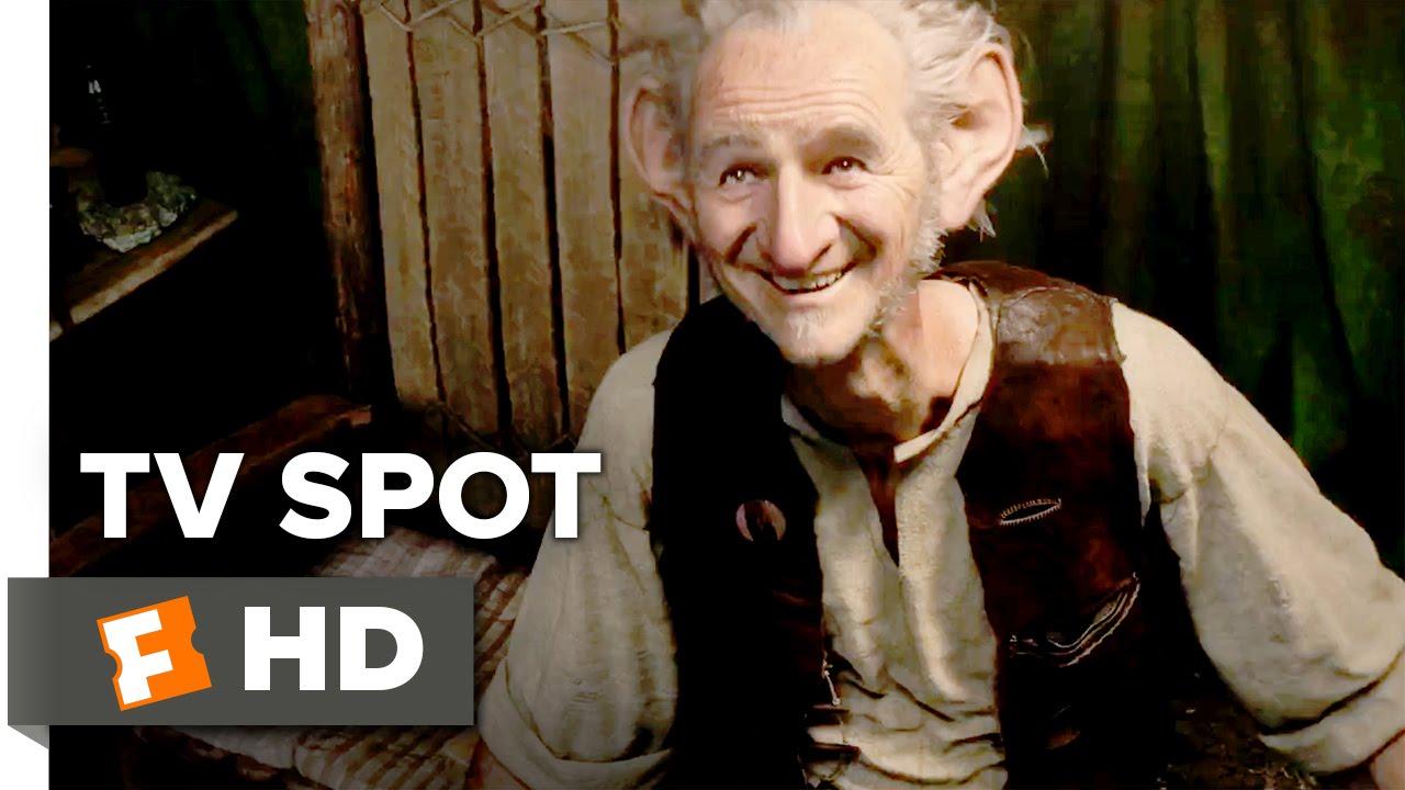 Download The BFG TV SPOT - In Theaters July 1st (2016) - Steven Spielberg Adventure HD