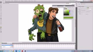 Видео урок по рисованию во флеше. Video tutorial on drawing in flash.