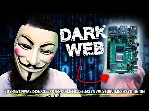 i put a DARK WEB website on a Raspberry Pi!!