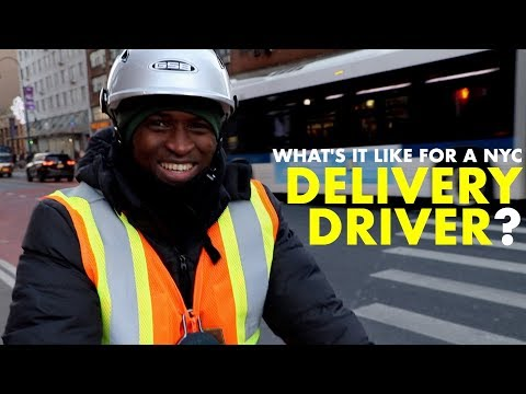 Being A DELIVERY DRIVER In Crazy NYC!!