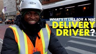 Being a DELIVERY DRIVER in crazy NYC!! - Day in the Life of a Seamless / Grubhub driver