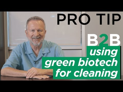 What is Green Biotechnology and Why is it Best for Commercial Cleaning?