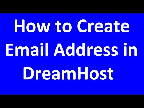 How to Create Email Address in DreamHost?