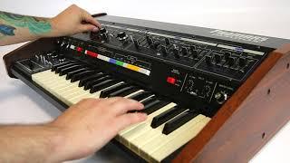 Roland Pro-Mars Vintage Analog Synthesizer Demo