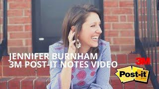 Pure & Simple Organizing, Jennifer Burnham, 3m Post-it Notes Video