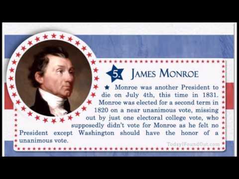 """James Monroe - """"Era of Good Feelings"""""""
