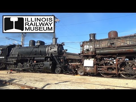 Illinois Railway Museum - Awesome Afterhours Switching w/ 16