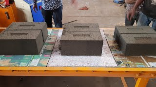 fly ash brick machine 12x8x6
