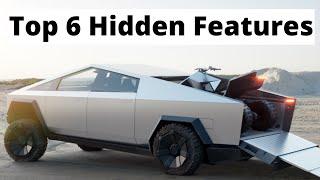 Tesla Cybertruck Top 6 Hidden Features Elon Musk *Did Not Mention*