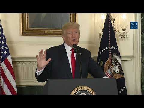 President Trump Delivers a Statement