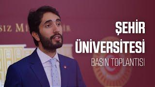Şehir Üniversitesi - 26.11.2019 [Basın Toplantısı]