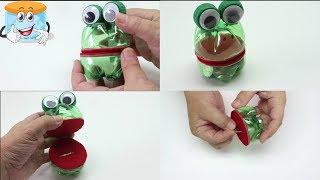 Как Сделать Лягушку Копилку из Пластиковых Бутылок