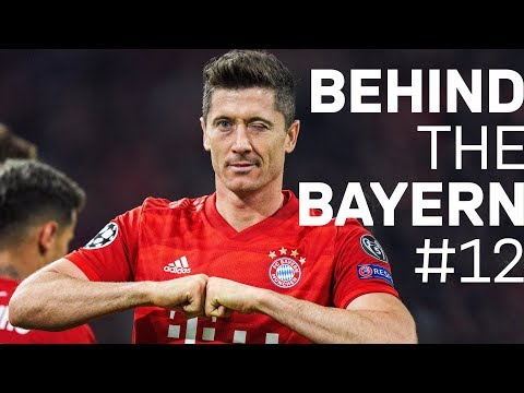 200th FC Bayern Goal for Lewy & Müller breaks Record | FC Bayern - Red Star | Behind The Bayern #12
