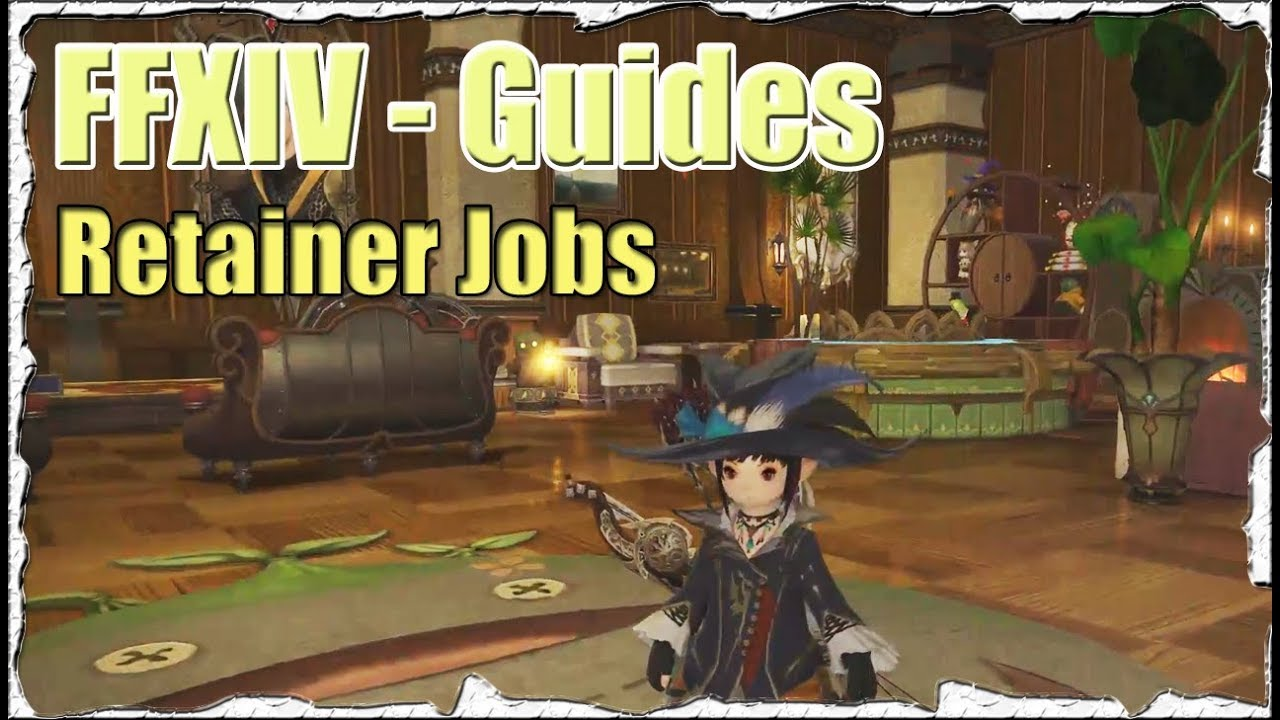 ffxiv retainer job guide