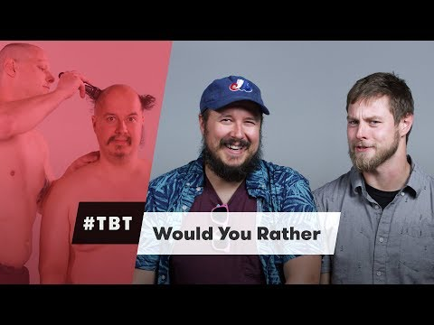 Would You Rather - #TBT