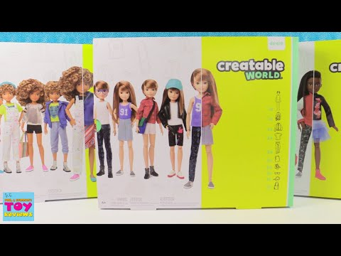Creatable World Dolls For Everyone Mix & Match Fashions Kit | PSToyReviews