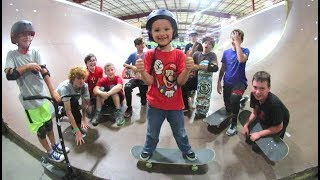 FATHER SON SKATEBOARD CAMP! thumbnail