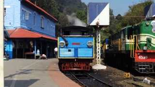 Nilgiri Mountain Railway: Steam loco detached after arrival at Coonoor