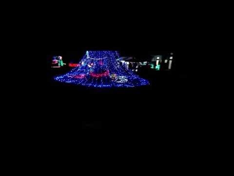 Illuminations de Noël dans la Campagne Japonaise
