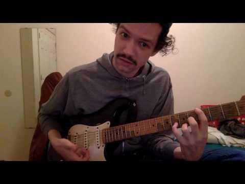 The REAL chords to deja vu by post malone ft. justin bieber - how to play - guitar tutorial