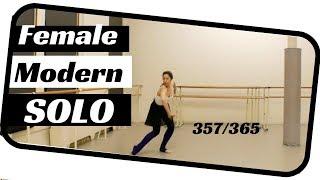 female ballet solo- dancing 365 ballets- ballet solo 357
