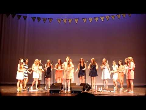 Virginia Tech's Premier all female a cappella - SOULSTICE - Valerie by Amy Winehouse