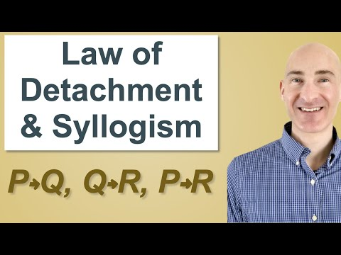 2 5 Law Of Detachment Syllogism Proofs Lessons Tes Teach