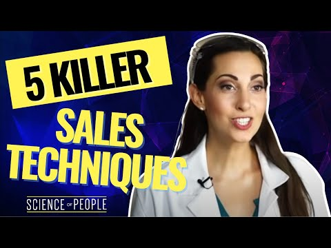 5 Killer Sales Techniques Backed By Science