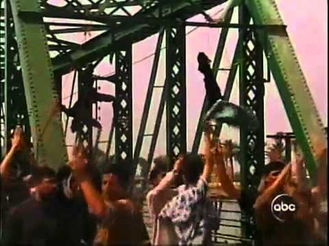 Four Blackwater Agents Hung in Fallujah Iraq March 31, 2004   YouTube