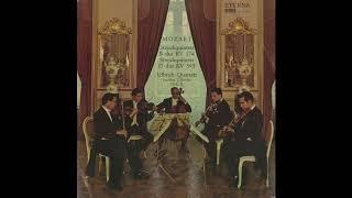 Silent Tone Record/モーツァルト:弦楽五重奏曲1番K.174,5番K.593/ウルブリヒ四重奏団、ヨアヒム・ウルブリヒト/クラシックLP専門店サイレント・トーン・レコード