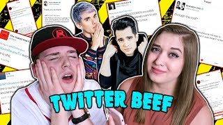 ARTV REACTS TO HIS TWITTER BEEF (BRENDON URIE, HALSEY, AWSTEN KNIGHT & MORE)