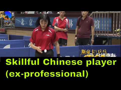 Skillful Ex-Professional Female Table Tennis Players in China