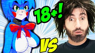 FIVE NIGHTS IN ANIME vs The World's Worst Gamer!