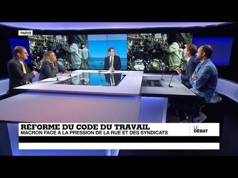 Réforme du Code du travail : Macron face à la pression de la rue et des syndicats (partie 2)
