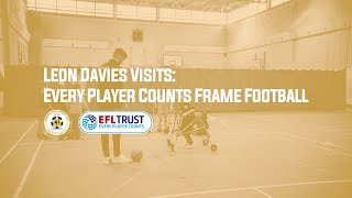 Every Player Counts Frame Football